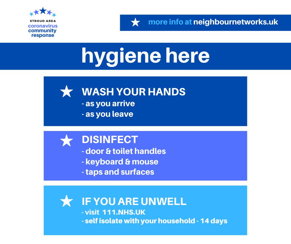 Hygiene here