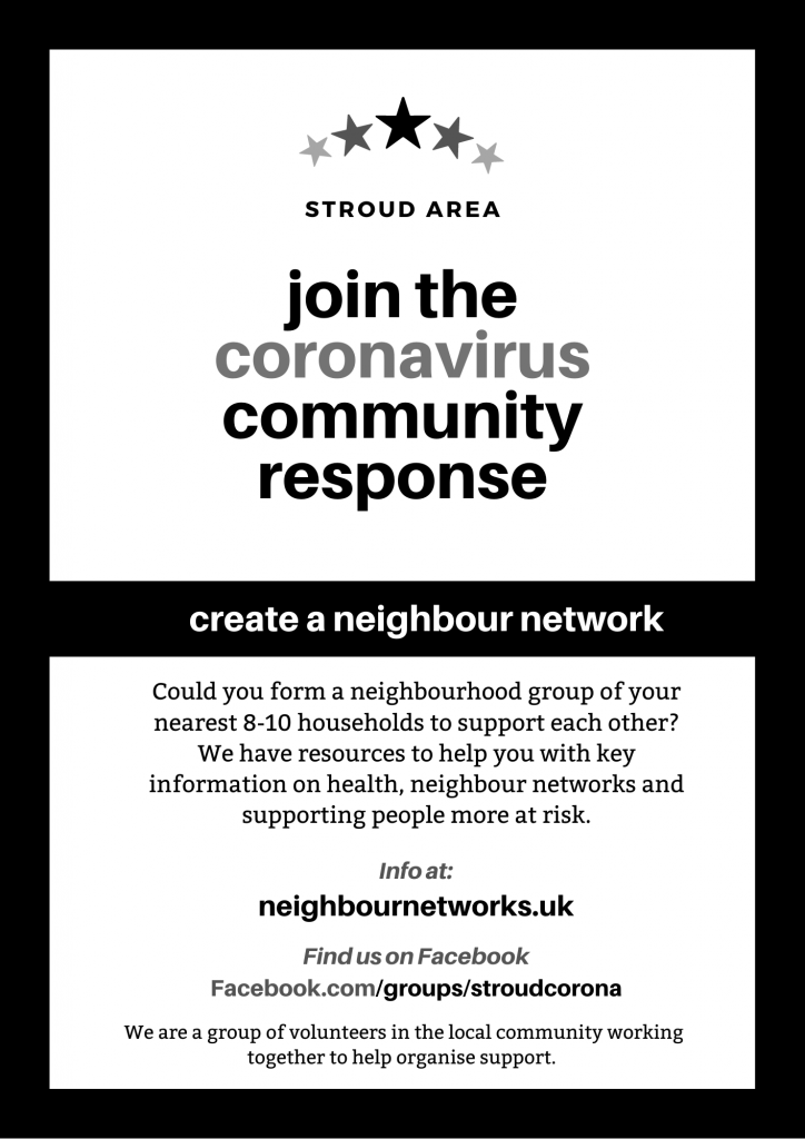 Join the Stroud Coronavirus Community Response